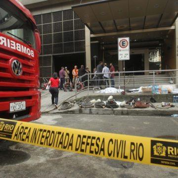 Morre 13ª vítima do incêndio no Hospital Badim