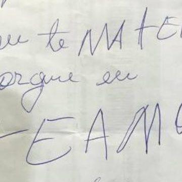 BRASIL Homem mata covardemente mulher a facadas e deixa bilhete: 'Matei porque te amo'