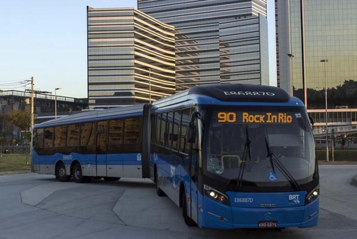 Prefeitura publica aumento da passagem do BRT para o Rock in Rio