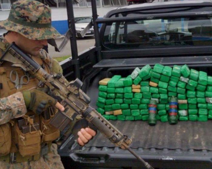 PM apreende mais de 100 kg de maconha e cerca de 500 munições na Maré