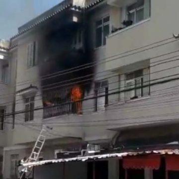 Duas pessoas morrem em incêndio em prédio de Higienópolis