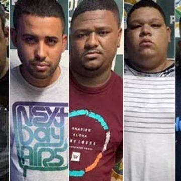 Cinco milicianos da quadrilha de Ecko são presos em Santa Cruz e na Baixada