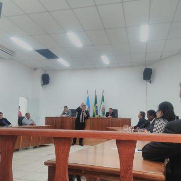 Novo presidente da Câmara Municipal de Queimados pede respeito à população