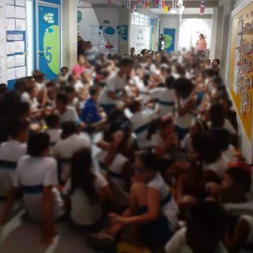 Alunos afirmam que helicóptero da Polícia Civil atirou em escola na Maré, Zona Norte do Rio