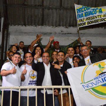 Dep. Est. Max Lemos reúne quase 3 mil pessoas No (IBC) em Nova Iguaçu na primeira Plenária Regional
