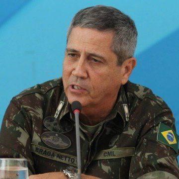 General Braga Netto: 'Homens armados de fuzil não podem ser vistos como uma situação normal'