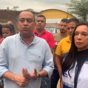 Governador Wilson atende pedido do deputado Max Lemos e envia equipes de Assistência Social para atender famílias prejudicadas pelas chuvas em Nova Iguaçu