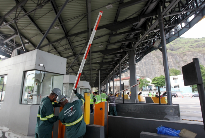 Prefeitura quer pedágio a R$ 2 na Linha Amarela