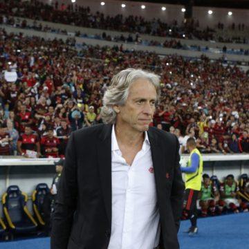 Jorge Jesus afirma que Flamengo não terá Rafinha e Arrascaeta contra o Grêmio