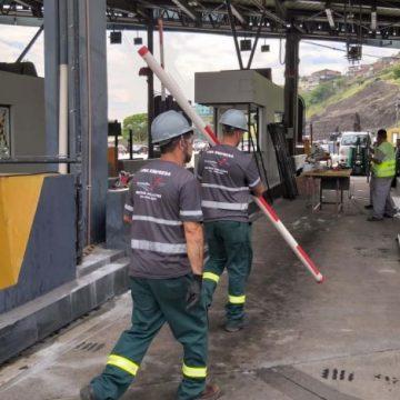 Reconstrução do pedágio da Linha Amarela vai custar R$ 3 milhões e durar um mês