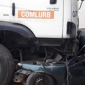 Caminhão de lixo da Comlurb desgovernado deixa feridos na Zona Norte