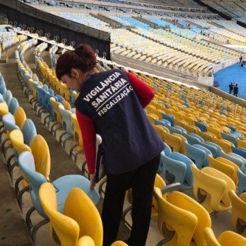 Vigilância Sanitária inspeciona Maracanã para semifinal da Libertadores