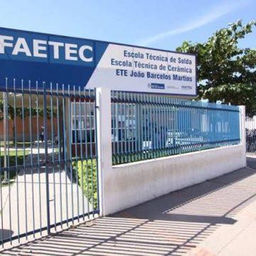 FAETEC abre 209 vagas para profissionais de ensino médio e superior