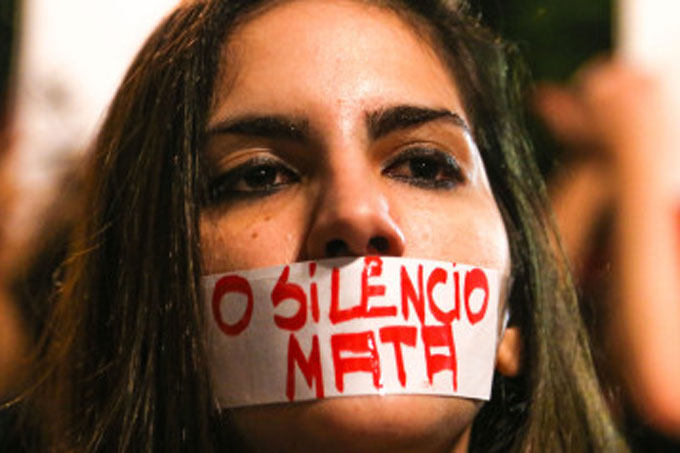 Brasil é o 5º país em morte violentas de mulheres no mundo.