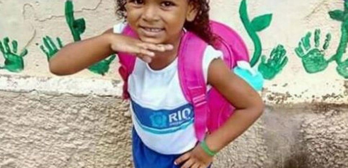Morre menina vítima de bala perdida em Realengo