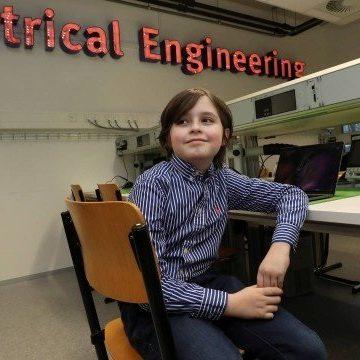 Belga de 9 anos vai se tornar o mais jovem do mundo a concluir faculdade