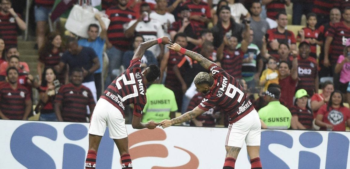 Flamengo marca 138 vezes em 2019 e bate recorde de gols no século; veja os artilheiros do time