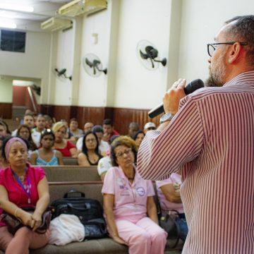 Prefeitura de Nilópolis realizou diversas ações para a campanha Outubro Rosa