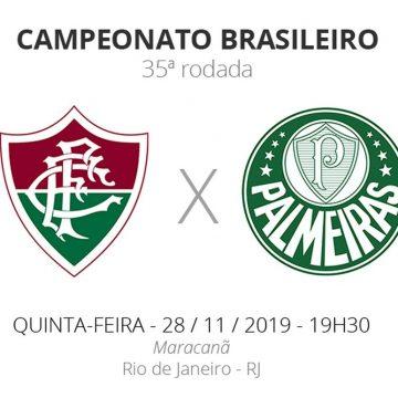 Fluminense x Palmeiras: veja onde assistir, escalações, desfalques e arbitragem