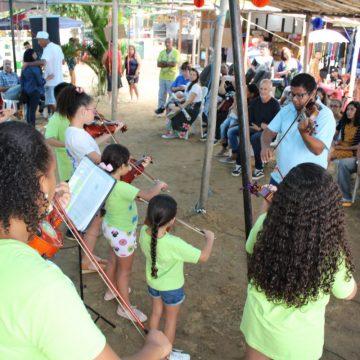 1ª Ação Arte Ecológica do Pantanal Iguaçuano marca o início de um novo conceito cultural na cidade
