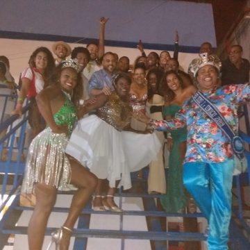 Lançamento do CD das escolas de samba do Grupo A