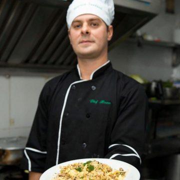 Conheça o Chef Bruno Barros