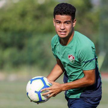 Miguel vive expectativa por começar sua primeira pré-temporada como profissional do Fluminense