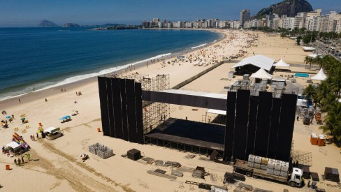 Operação para o réveillon de Copacabana começa amanhã