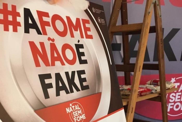 Campanha Natal sem Fome permanece até o dia 20 de dezembro em Nova Iguaçu