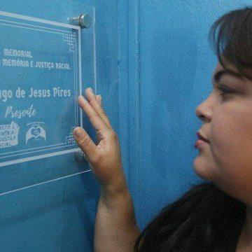 Colégio estadual na Baixada inaugura memorial em homenagem a ex-aluno morto pela PM