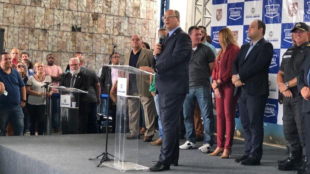 Governador do RJ promete reimplantar projeto das UPPs a partir de 2020