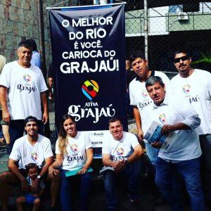 Ativa Rio marca presença na inauguração do Segurança Presente para o Grajaú e Vila Isabel