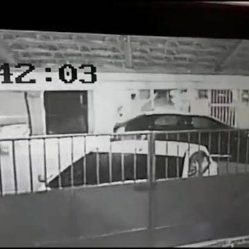 Imagens mostram bombeiro atirando contra a ex no Rio; militar é suspeito de ter raspado o cabelo da filha