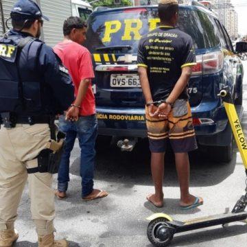 Jovem é preso após furtar patinete elétrico e atravessar a Ponte Rio-Niterói