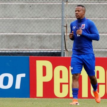 Lateral-esquerdo Guilherme Santos, de 31 anos, é o primeiro reforço do Botafogo para 2020