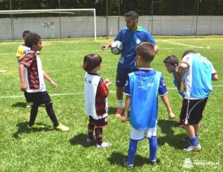 Projeto 'Gol do Brasil' dá pontapé inicial em evento no Várzea F.C. em Teresópolis-RJ