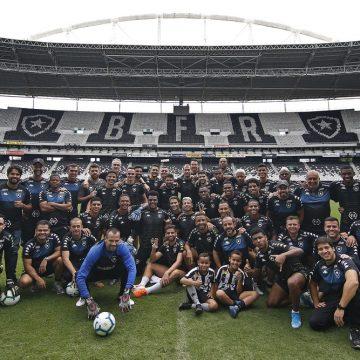 Sem grandes investimentos, Botafogo prevê mais espaço para atletas da base em 2020