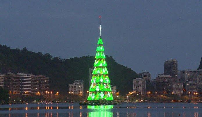 Governo do Estado do Rio de Janeiro e Light trazem de volta à Lagoa Rodrigo de Freitas a Árvore do Rio Light que inaugura no dia 14 de dezembro