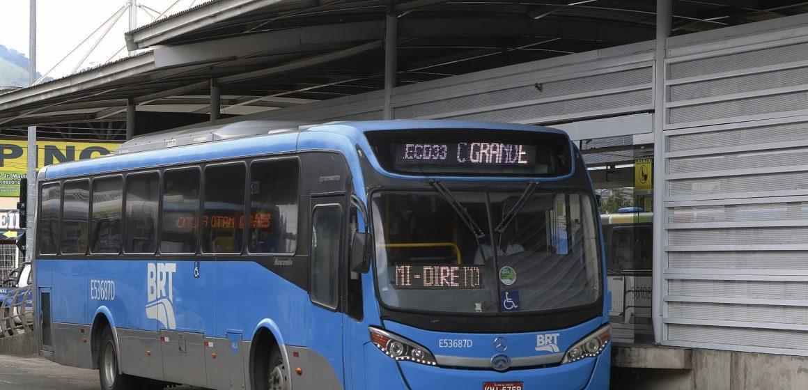 BRT Rio divulga o funcionamento das linhas nas festas de fim de ano
