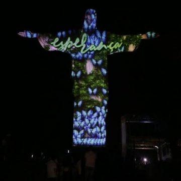 Ano novo: Cristo Redentor terá show de luzes para 'emanar energia para o Rio'