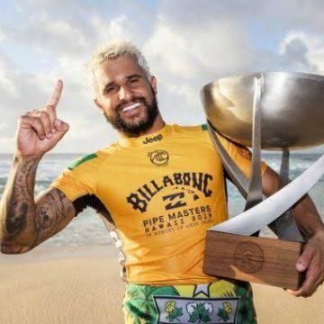Nordestino Ítalo Ferreira é campeão mundial de surfe