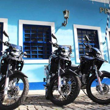 Guarda Municipal de Mangaratiba recebe seis novas motocicletas
