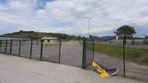 Parque Radical de Deodoro não tem área de banho liberada no primeiro dia do verão
