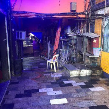 Vila Mimosa é temporariamente fechada pelos Bombeiros