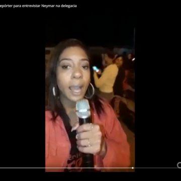 Mulher presa por homicídio fingiu ser repórter para entrevistar Neymar