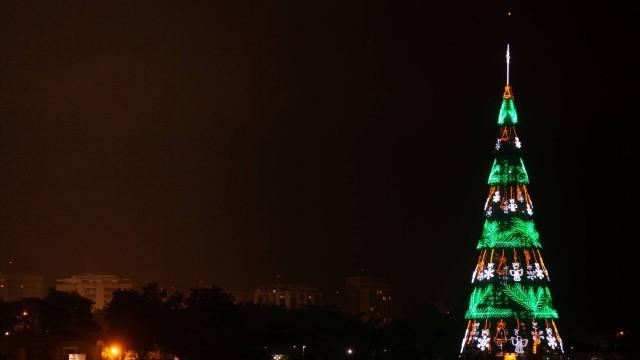 Árvore de Natal da Lagoa ficará disponível para o público por mais uma semana