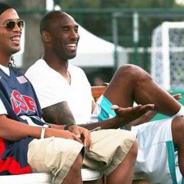 Ídolo de Neymar, fã de Oscar e amigo de Ronaldinho: Kobe Bryant tinha ligação com astros do Brasil