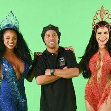 Novo camarote da Sapucaí apresenta Ronaldinho Gaúcho e Bianca Monteiro como embaixadores