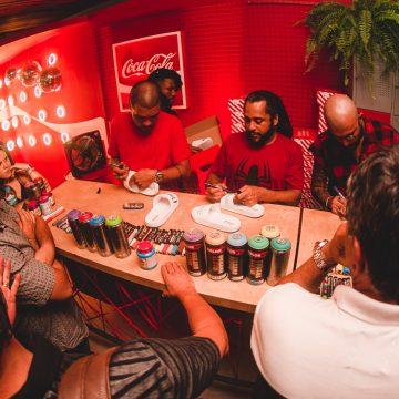 Famosos prestigiam evento da Coca-Cola Shoes