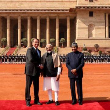 Brasil e Índia assinam 15 acordos para estimular investimento entre países